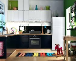 modern kitchen rugs. Kitchen Rugs Ikea Wonderful Small Modern Design With Black Cabinet And White Refrigerator Area I