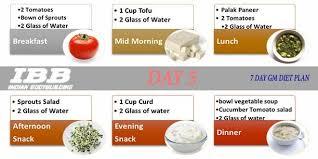 Gm Diet Day 2 Vegetarian Salad