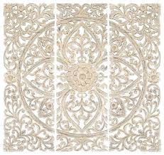white rose wall art canvas carved wood decor paint on panel designs set of for plan white metal wall art