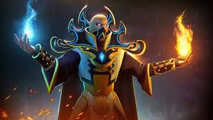 invoker magic fighter flame dota 2 video game desktop wallpaper