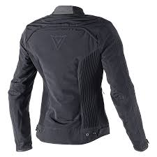 dainese alice text lady jacket black