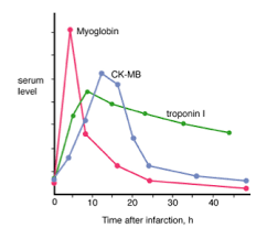 Cardiac Enzymes Serum Level And Time After Infarction