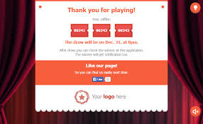 Raffle Draw Application Raffle Game Promotional Facebook Application By Theme Lab Codecanyon
