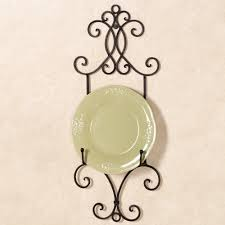 attractive decorative plate wall hangers pattern wall art