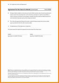 Sample Agreement Letter For Buying A Car Fresh 5 Car Repair Car ...
