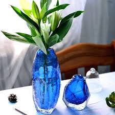 colored glass vase modern handmade terrarium colored glass vase for decoration home decor tabletop vases for colored glass vase