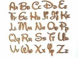disney wooden letters lettering word