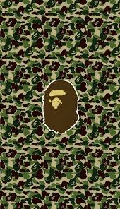 Bape ape ABC camo logo wallpaper