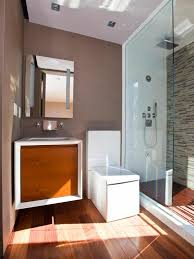 modern guest bathroom design. bathroom:modern guest bathroom in small space with white toilet seat also wooden laminate wood modern design
