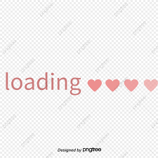 Pink Love Loading Chart Love Clipart Pink Loading Png
