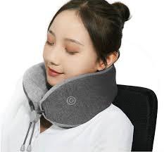 Подушка с <b>массажером Xiaomi LeFan Comfort-U</b> Pillow Massager ...