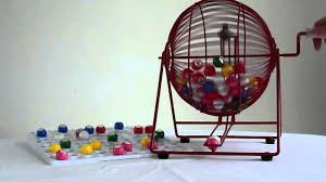 Bingo Ball Generator Bingo Cage Machine From Manor Press Ltd