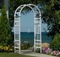 iron arch trellis love knots 5 5 ft