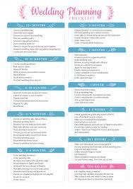 Wedding Detail Checklist Wedding Planner Templates