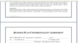 Business Confidentiality Agreement Sample Template Non Disclosure Agreement Template Word 5