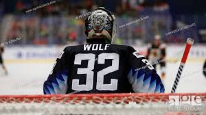 Dustin Wolf, goalkeeper of USA, in action during the 2020 IIHF World Junior  Ice Hockey Championships..., Stock Photo, Picture And Rights Managed Image.  Pic. CKP-P201912270523601 | agefotostock