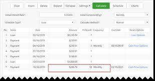Ultimate Loan Payoff Calculator Exact Date Loan Balances