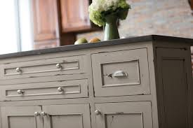 painted kitchen islandsHeritage Paint Kitchen Island  Contemporary  Kitchen  Denver