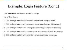 Example Login Test Cases Page Case Template Scenarios And Copy ...