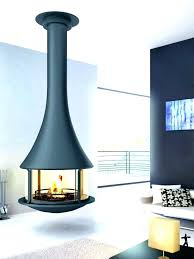 ceiling hanging fireplace uk