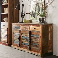the character reclaimed wood sideboard  wood furniture