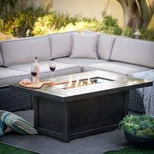 propane fire pit table set. Fire Pit Table Set Outdoor With Chimney Gas Glass Propane E