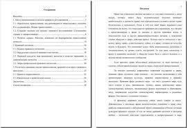 Курсовая работа по теории государства и права пр