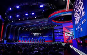 Event Stage Design Abc Goes Structural For Its Democratic Debate Stage Design