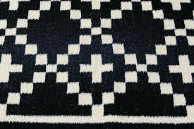 black woven rug black flat weave rug black black white chevron woven area rug project 62tm
