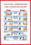 Anwendung der Feuerloscher