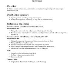Fill In Blank Resume Administrative Manager Resume Sample