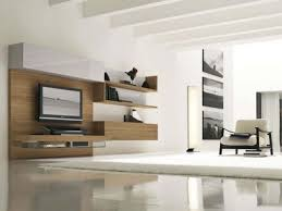 Wall Mounted Living Room Furniture Decoration Ideas Fantastic Design With White Furry Rug And Wall