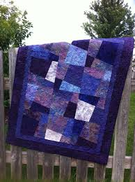 Custom Quilted Purple Batik Quilt- Ormond Beach Quilts & Purple Hopscotch Adamdwight.com