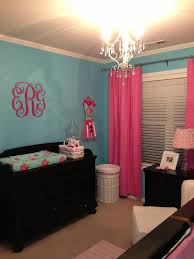 Emerson\u0027s Pink and Turquoise Nursery | Turquoise nursery, Project ...