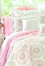 pink comforter full size sets of and grey set twin bedding chevron plain