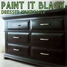 Refinishing Bedroom Furniture Paint It Black Furniture Repainting Stage 2 The Decor Guru