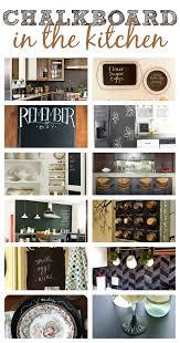 Chalkboard In Kitchen Chalkboard Ideas In The Kitchen This Girls Life Blog Miserv