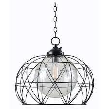 cavea bronze 1 light outdoor hanging pendant