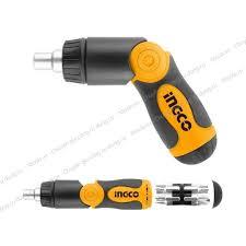 Bộ tua vít đa năng 13 chi tiết INGCO AKISD1208 đóng mở 2 chiều tự động có  nam châm sửa điện thoại máy tính giá cạnh tranh