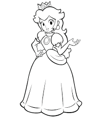 Super Mario Coloring Pages Printable Printable Coloring Pages Super