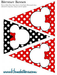 Mickey Mouse Party Printables Free Minnie Mouse Party Printable Kit Red Free Minnie Mickey