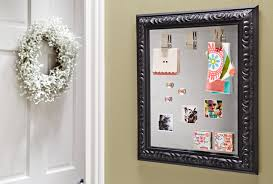 make a picture frame magnet board