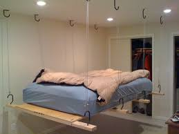 Astounding Hanging Bed Frame Plans Photo Inspiration
