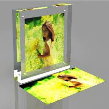 2016 new style square acrylic photofunia photo block frames whole