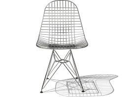 ray and charles eames furniture. Eames Wire Chair With Base Ray And Charles Furniture F