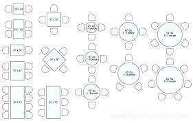 round table sizes for 8 restaurant table sizes drawing plan view round dining seating round dining round table sizes for 8