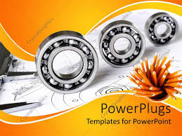 Mechanical Design Ppt Powerpoint Template Mechanical Engineering Theme With Three