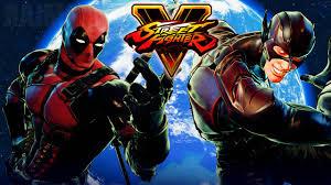 street fighter 5 deadpool vs the flash marvel vs dc gameplay