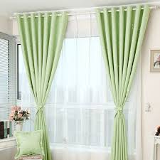 Curtain Patterns Awesome Beauteous Printed Star Pattern Apple Green Curtains