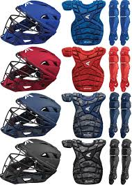 Easton Catchers Gear Size Chart Easton M10 Custom Colors A165339 Adult Baseball Catchers Gear Set